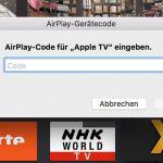 Airplay Code Atv