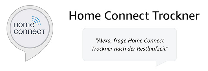 Alexa Home Connect