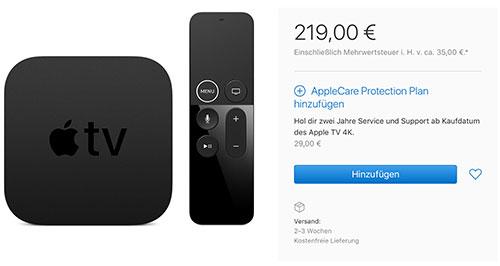 Apple Tv 4k Kaufen