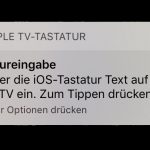 Apple Tv Tastatur