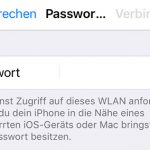 Os 11 Wlan Passwort Sharing