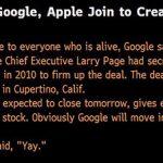 Apple Google Verkauf