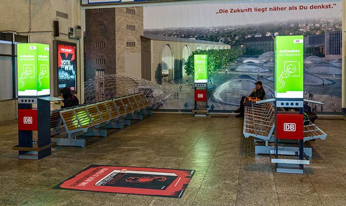 Hauptbahnhof Stuttgart Handy Laden