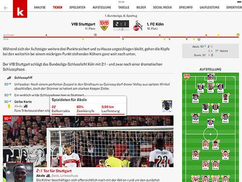 Kicker App Screenshot Ipad