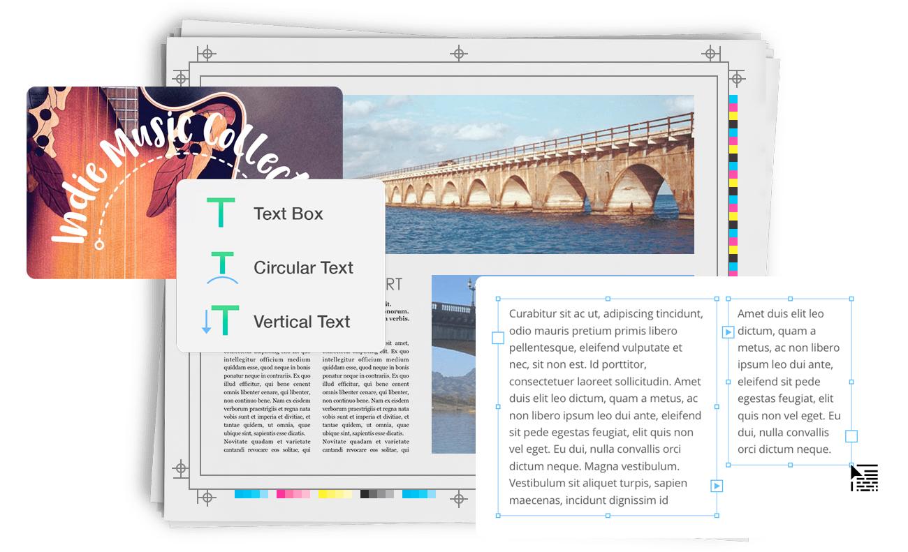 Desktop Publishing Printworks 2 Erstellt Flyer Broschüren Und Mehr