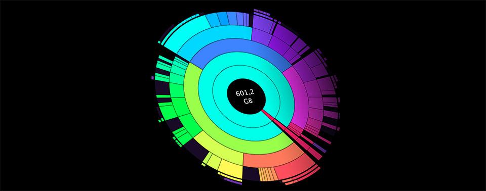 DaisyDisk oder Apples Systemtools: Speicherfresser auf dem Mac