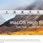 High Sierra Update