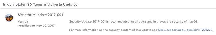 Macos Security Update 2017 001