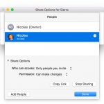 Share Access Fenster