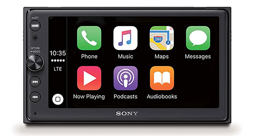 Sony Carplay Receiver XAV AX100