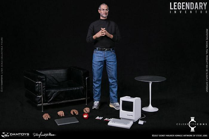 Steve Jobs Puppe Zubehoer
