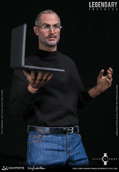 Steve Jobs Puppe
