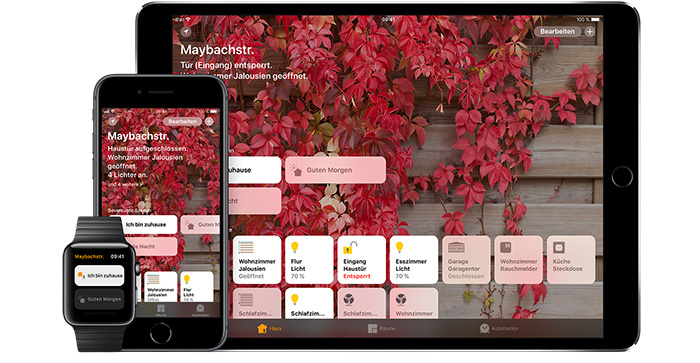 Apple Homekit Geraete