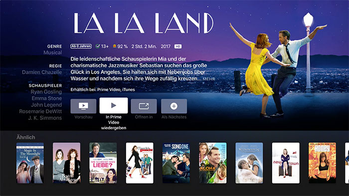 Apple Tv Video App Lalaland