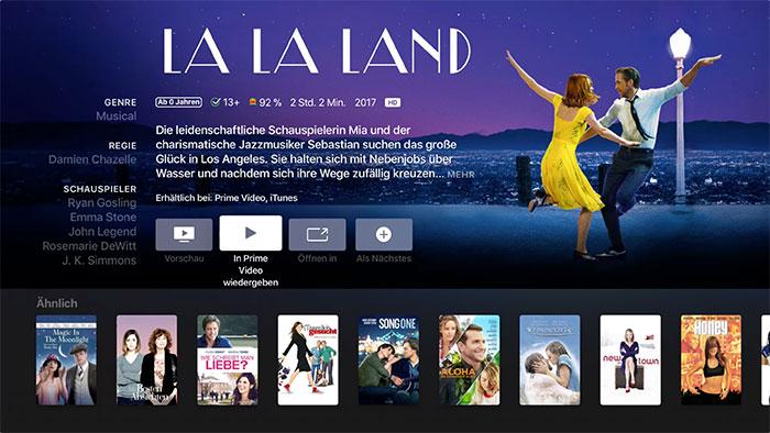Apple Tv Video App Lalaland