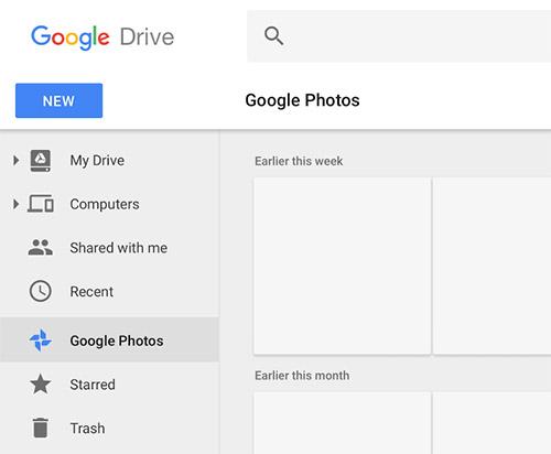 Google Drive Fotos