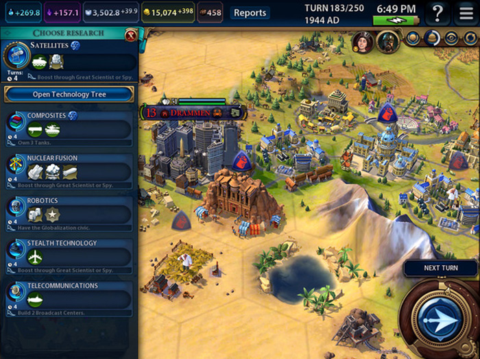 Sid Meiers Civilization Vi Screenshot