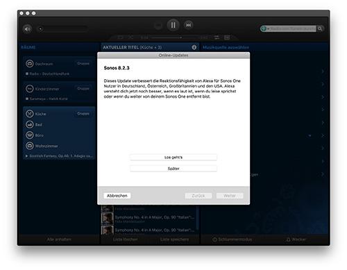 Sonos Update 8 2 3