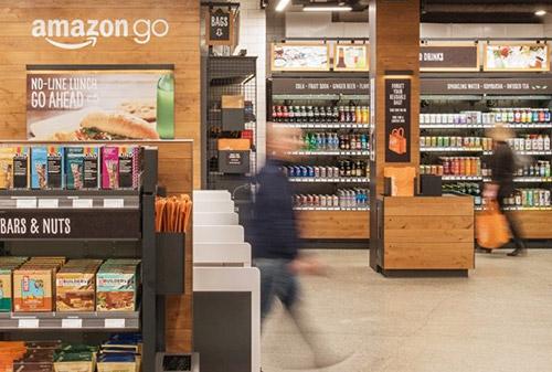Amazon Go Innenansicht
