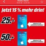 Mediamarkt Itunes Karten 15 Prozent