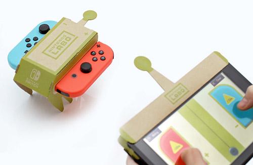 Nintendo Labo Spiel