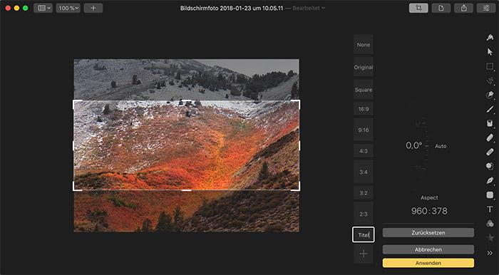 Pixelmator Pro Freistellen Mit Vorgabe