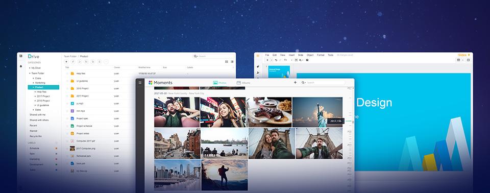 Synology gibt Moments, Drive und Office für alle Nutzer frei