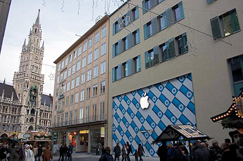 Apple Rosenstrasse