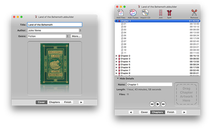 Audiobook Builder Screenshots