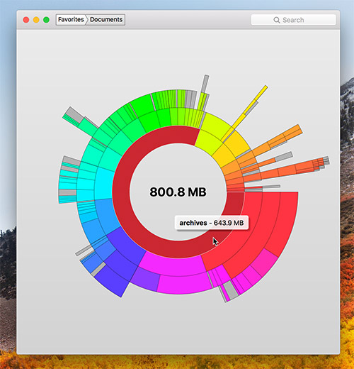 Disk Graph Mac