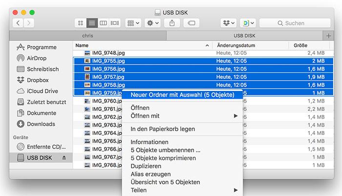 Macos Dateien In Ordner Kopieren