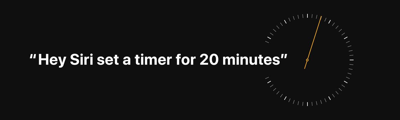 Timer Homepod