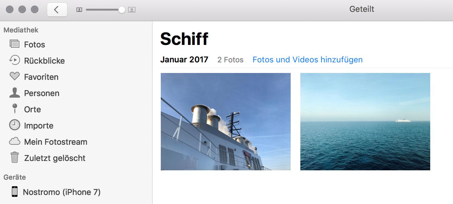 Alben Schiff