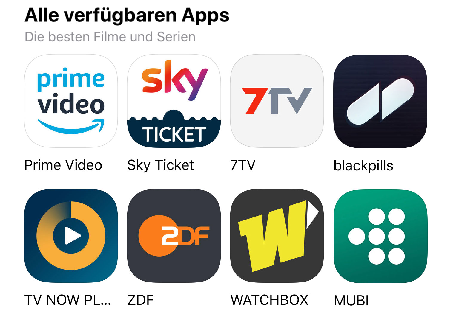 Apple Apple Tv Apps