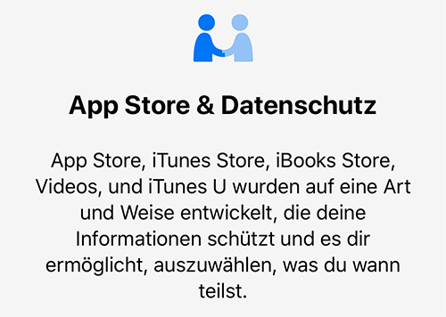 Apple Datenschutz Richtlinien