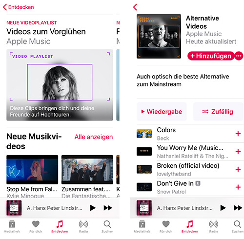 Apple Music Musikvideos