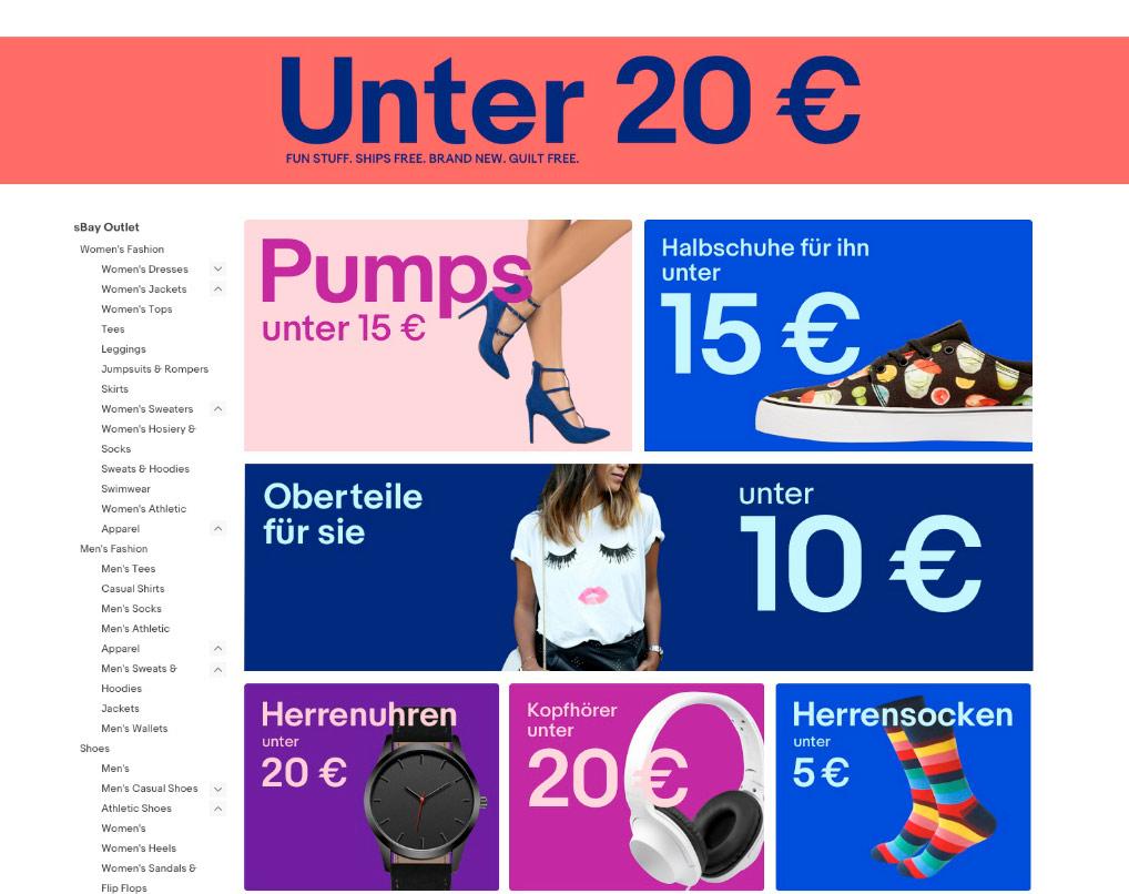 Ebay Unter 20