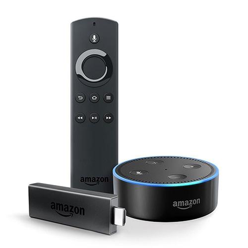 Fire Tv Stick Mit Echo Dot