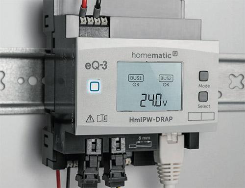 Homatic Ip Wired Hutschiene