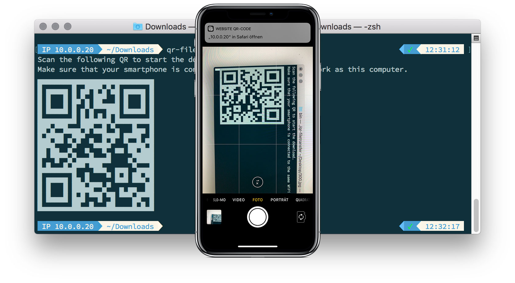 Iphone Qr Transfer