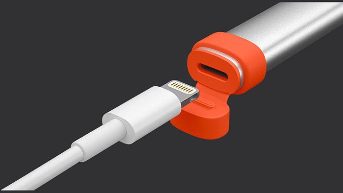 Logitech Crayon Lightning Anschluss