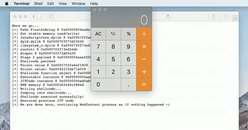 Pwned2own Apple Safari Hack
