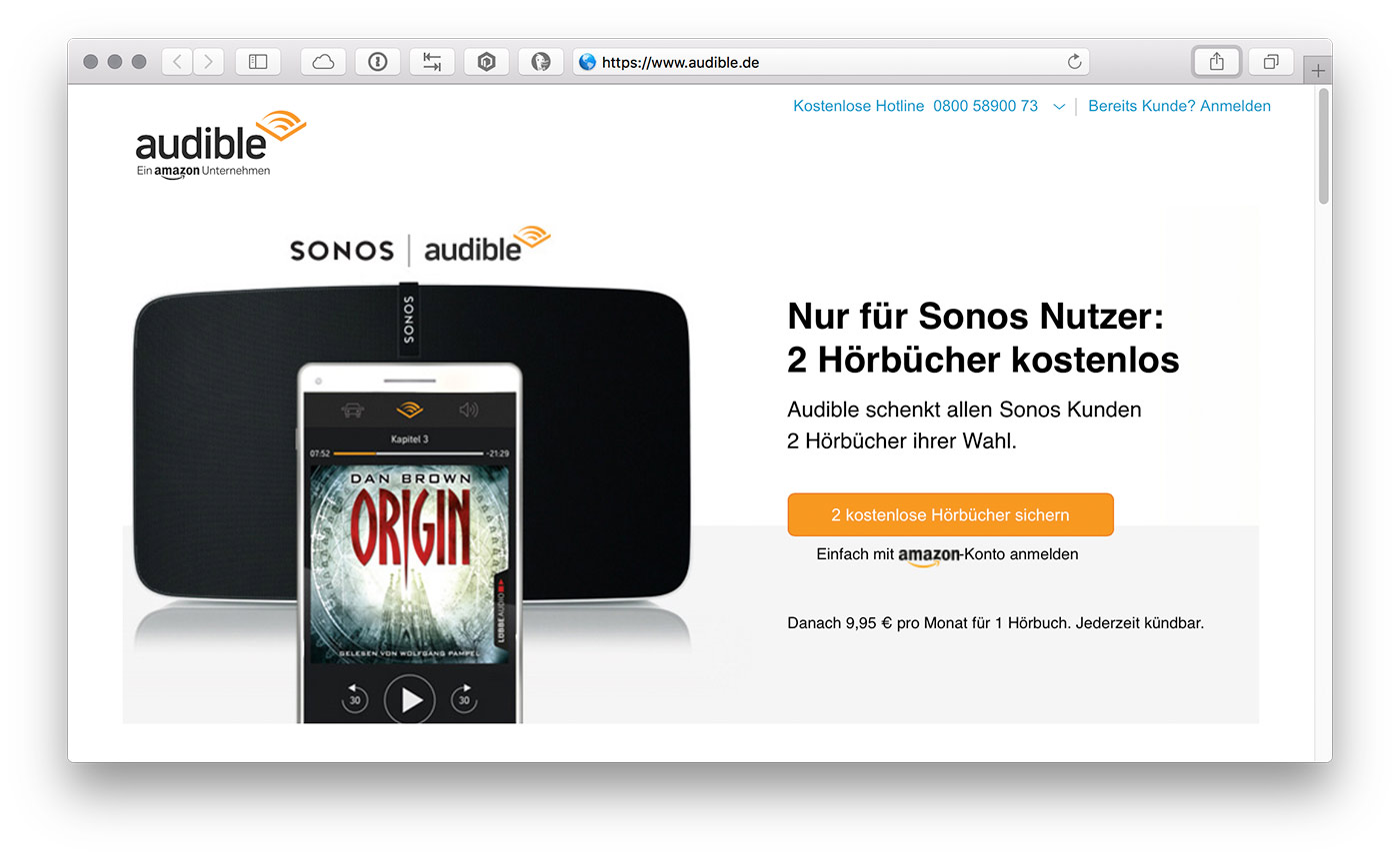 Sonos Audible 1