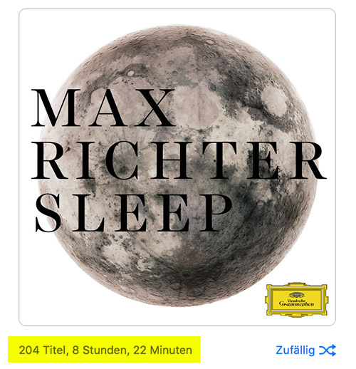 Apple Music Max Richter 204 Tracks