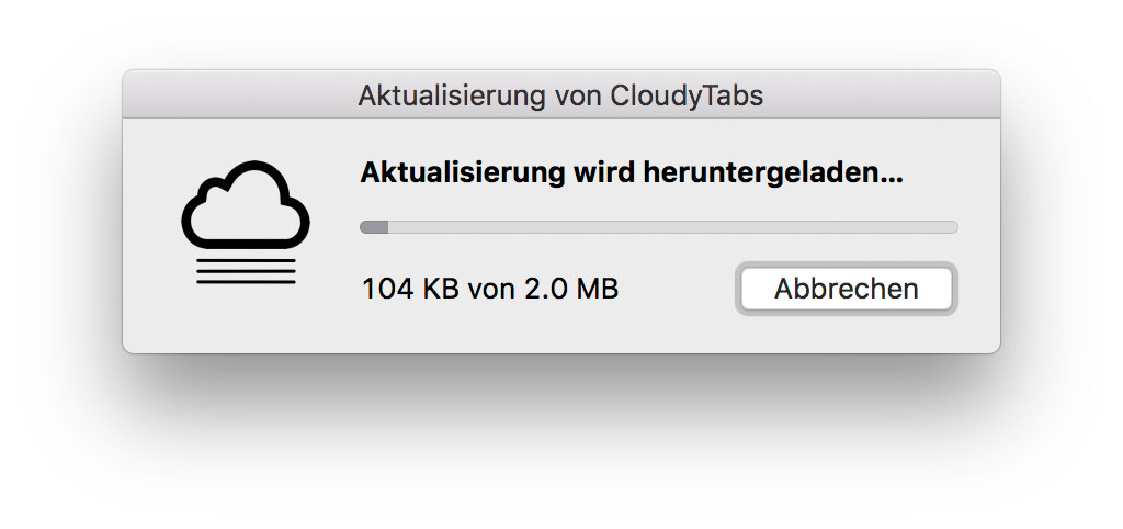 Cloudy Tabs