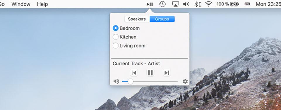 Gruppen Sonos Feature