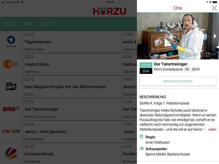 Hoerzu Ipad App 700
