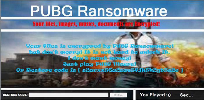 Pubg Ransomware