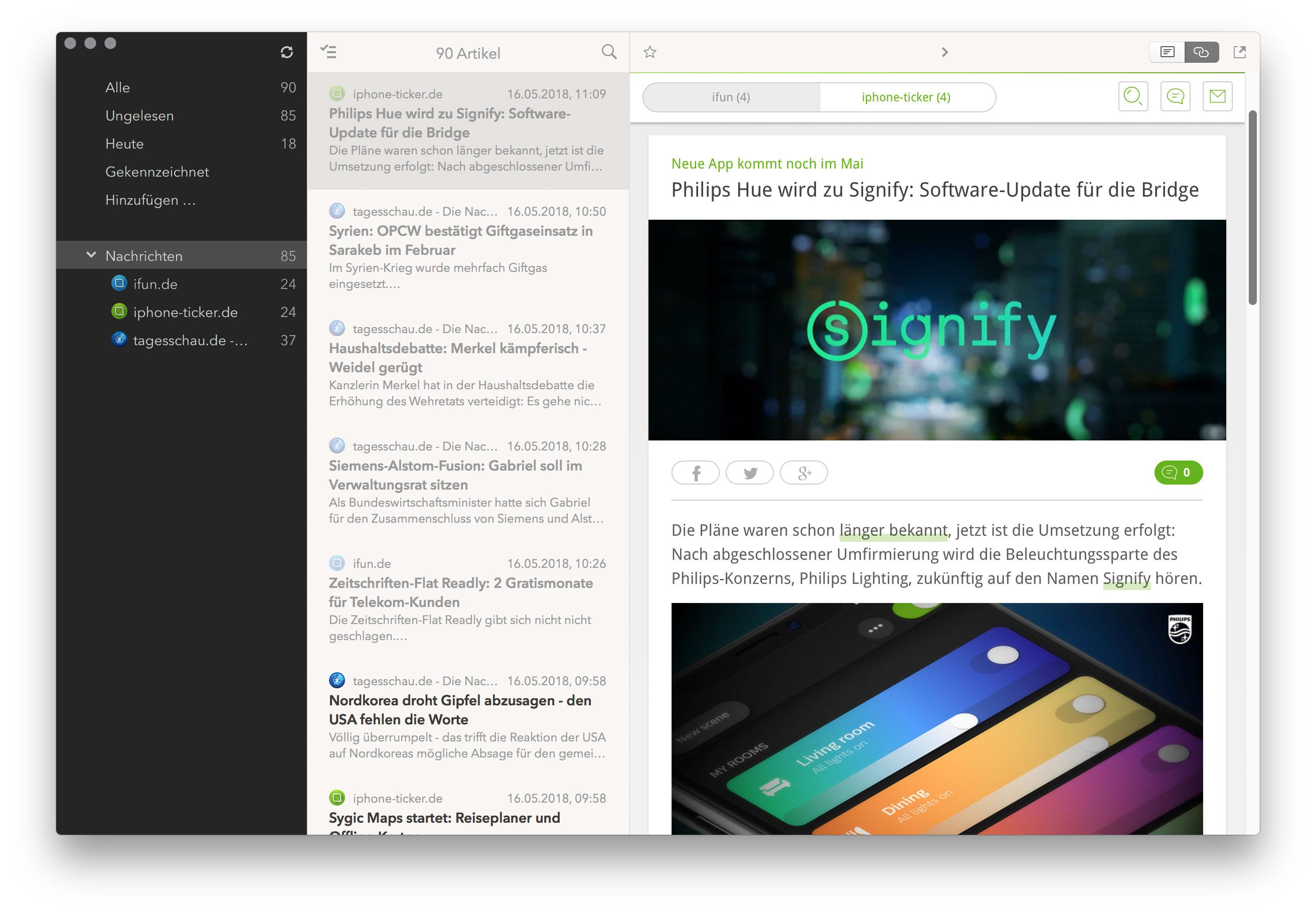 Cappu Mac Screen