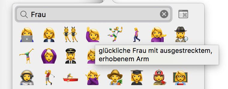 Frau Emoji
